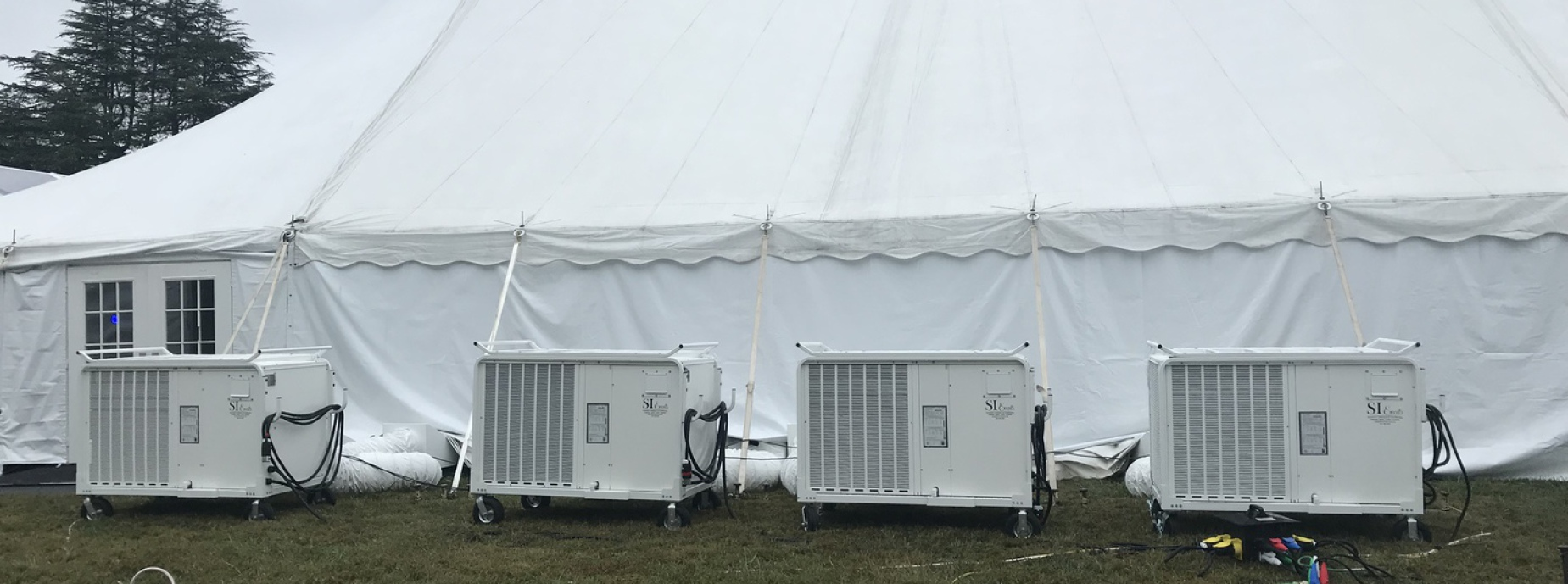A/C and Heating services are available for tents barns u0026 buildings of all sizes. & meta nameu003d